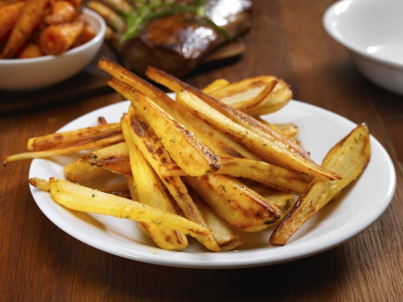 roast parsnips