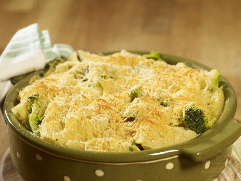 broccoli and pasta bake