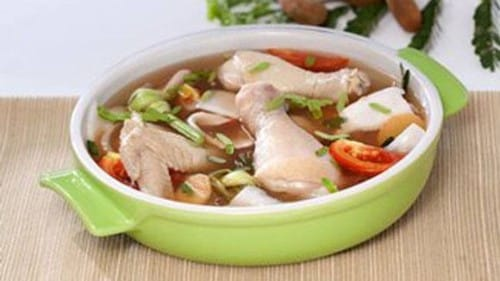 Sinigang Buko at Manok Recipe