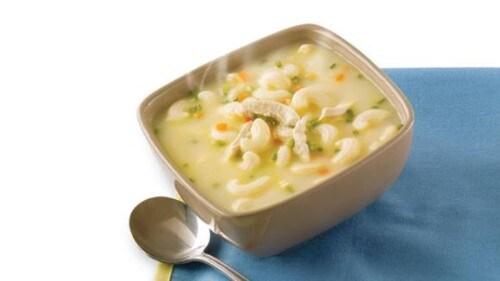 Star Sopas with Garlic Chicken Recipe