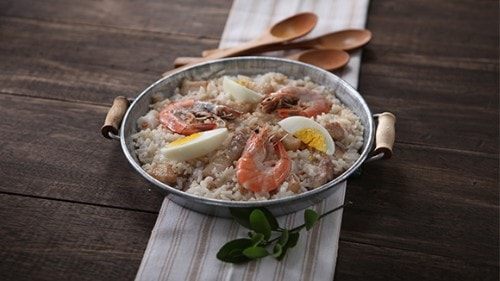 Pork Paella sa Gata Recipe