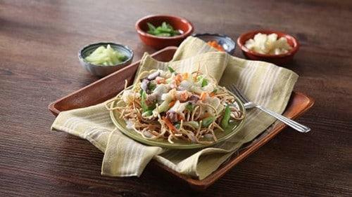 Crispy Noodle Pork Chop Seuy with Gata Recipe