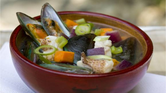 Seafood Vegetable Soup Recipe