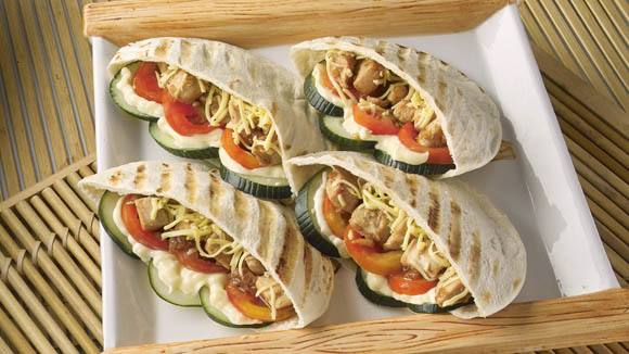Pita Pockets Recipe  Knorr