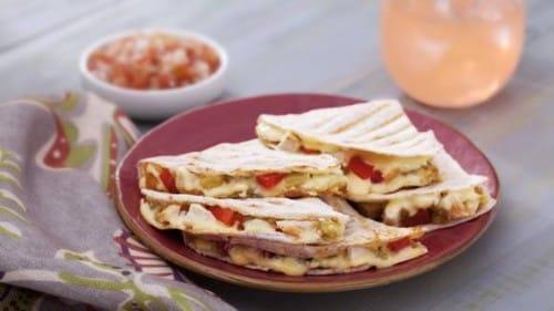 Poqui Poqui with Quesadillas Recipe