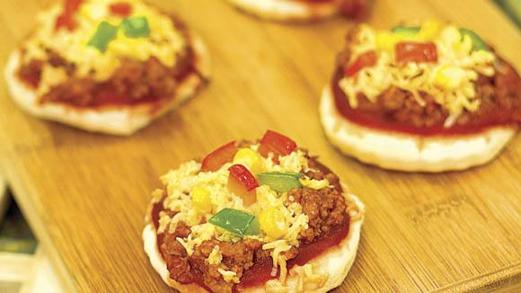 Sloppy Joe Pizzetas Recipe