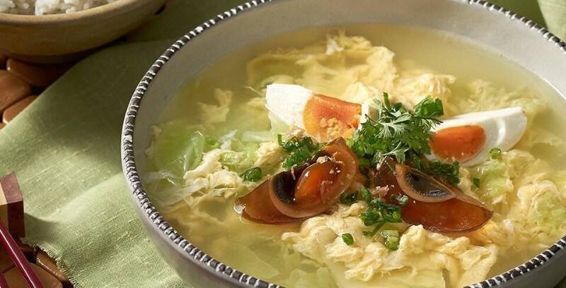 ซุปสามไข่