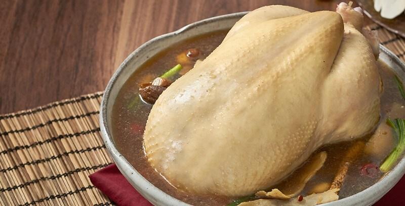 ไก่ตุ๋นยาจีนเห็ดหอม
