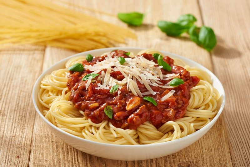 Spicy Bolognese