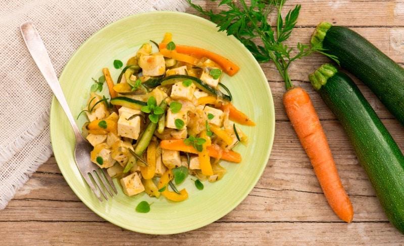 Tofu Erbe e Verdure