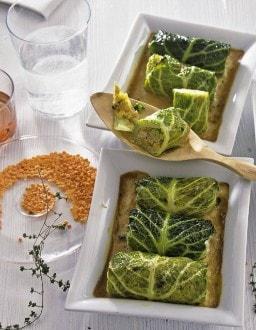 Knorr - Wirsingröllchen mit Kräutern der Provence