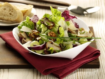 Knorr - Salat mit gebratenen Steinpilzen