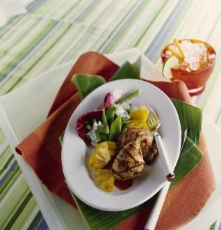 Knorr - Marinierte Hähnchenkeulen mit Ananas