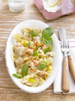 Knorr - Farfalle Carbonara mit Hähnchen