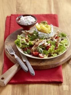 Knorr - Ofenkartoffel mit Salat