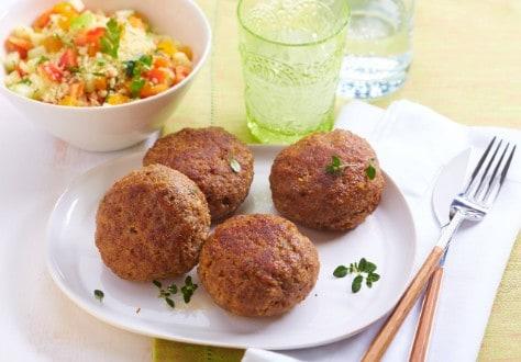 Knorr - Frikadellen mit Couscous-Salat