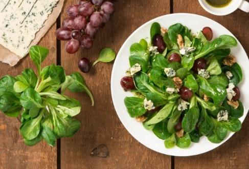 Knorr - Feldsalat mit Weintrauben