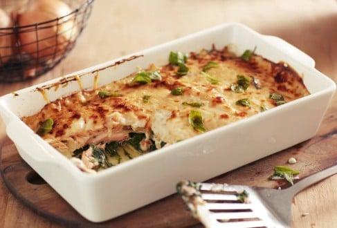 Knorr - Spinat-Lachs-Lasagne