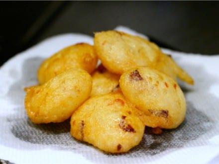 Ojojo yam snacks