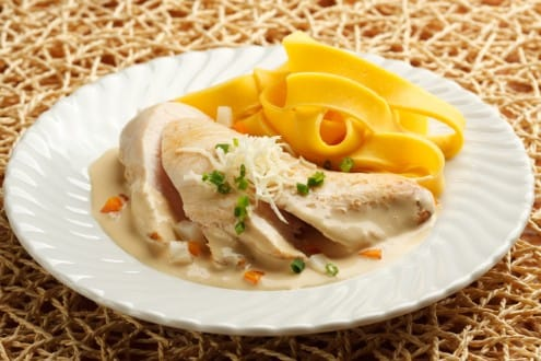 Knorr - Hühnerfilets mit Gemüse-Krensauce