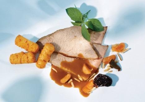 Knorr - Schweinsmedaillons mit Gorgonzola-Rahmsauce