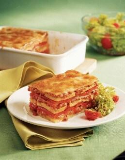 Knorr - Semmelknödel-Lasagne mit Paprika
