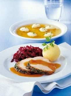 Knorr - Jungschweinsbraten mit Kräutern und Zimtkraut