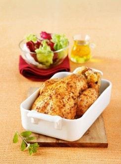 Knorr - Steirisches Brathuhn mit Kürbiskern-Knödel-Fülle