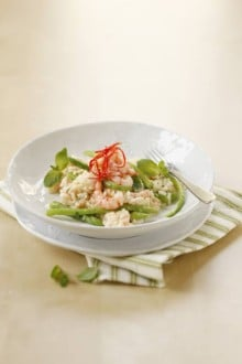 Knorr - Spargelrisotto mit Shrimps