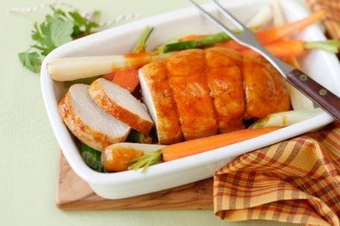 Knorr - Putenbraten mit Wurzelgemüse