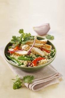 Knorr - Couscous mit Erbsenschoten und Hühnerfiletstreifen