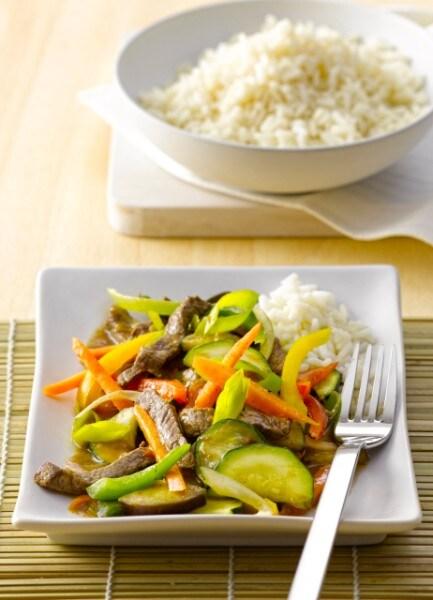 Knorr - Rindfleisch-Gemüse aus dem Wok