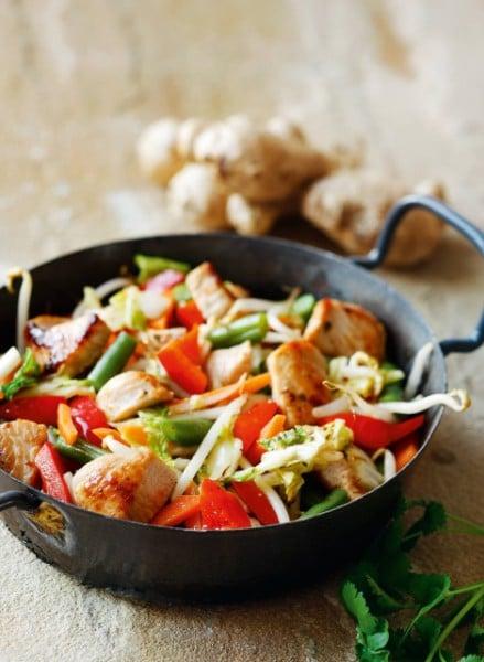 Knorr - Wok-Gemüse mit Putenstreifen