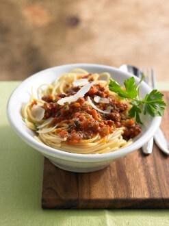 Knorr - Spaghetti Asciutta mit Karotten, Sellerie, Lauch und Faschiertem