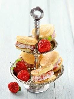 Knorr - Limettentaler mit Erdbeercreme