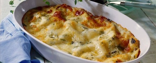 Knorr - Lasagne Carbonara mit Zucchini und Rohschinken