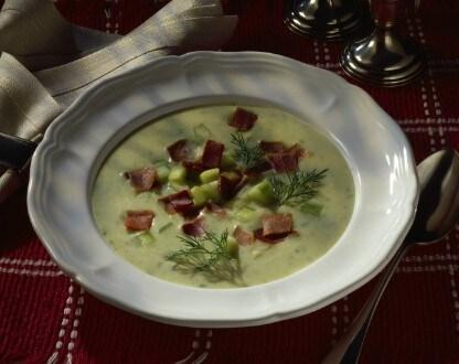 Knorr - Erdäpfel-Gurkensuppe