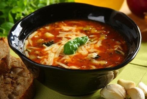 Knorr - Tomaten-Broccolisuppe mit Mozzarella