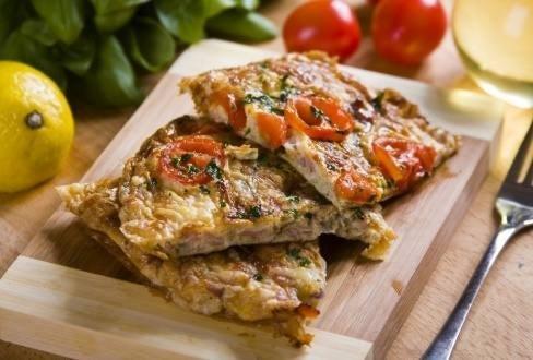 Knorr - Frittata mit Schinken und Tomaten