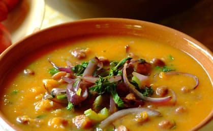 Knorr - Kürbis-Bohnensuppe
