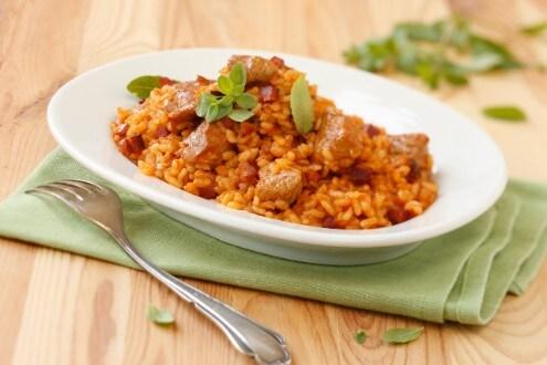 Knorr - Serbisches Reisfleisch vom Kalb