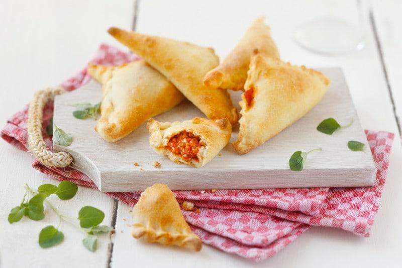 Knorr - Italienische Pizzataschen
