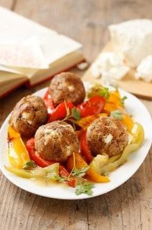 Knorr - Fleischbällchen mit Paprika-Gemüse