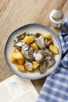 Knorr - Mohnschmarrn mit gebratenen Apfelspalten
