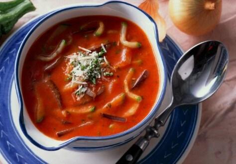 Knorr - Italienische Gemüsesuppe mit Käse
