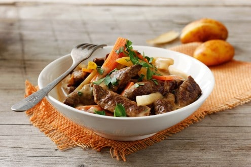 Knorr - Eva´s Rindsragout mit Gemüse