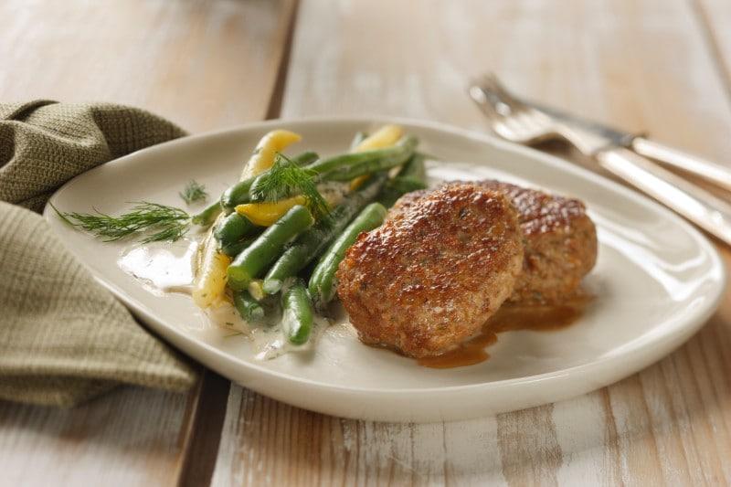 Knorr - Butterschnitzel vom Kalb mit Cremefisolen