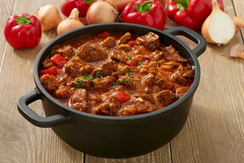 Knorr - Schnelles Rinder-Paprika Gulasch
