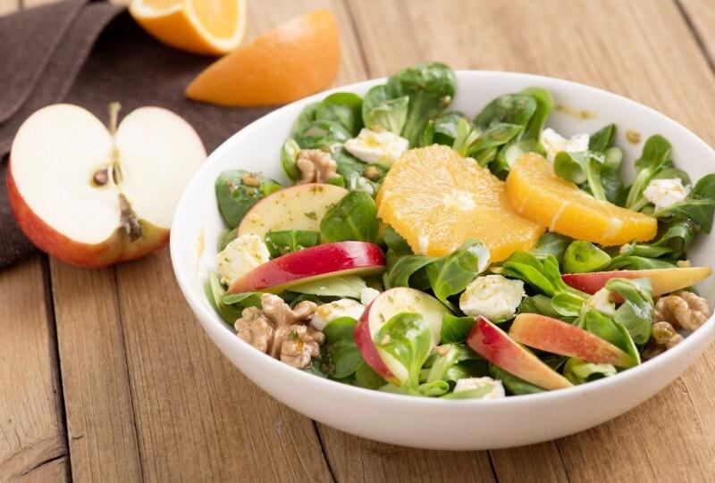 Knorr - Fruchtiger Ziegenkäsesalat