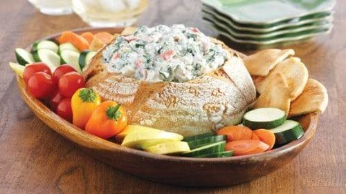 Dip de espinaca y yogur griego Knorr